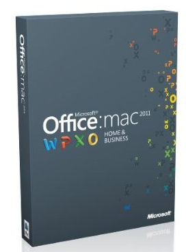 Microsoft Office Mac Home and Business Multi Pack 2011
