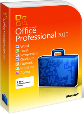 Microsoft Office Professional Plus 2010