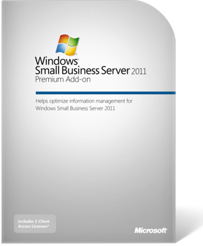 Microsoft Windows Small Business Server 2011 Premium Add-on (OEM)