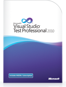 Microsoft Visual Studio Test Professional with MSDN 2010